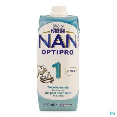 NAN OPTIPRO 1 STARTMELK TETRABRICK 500ML