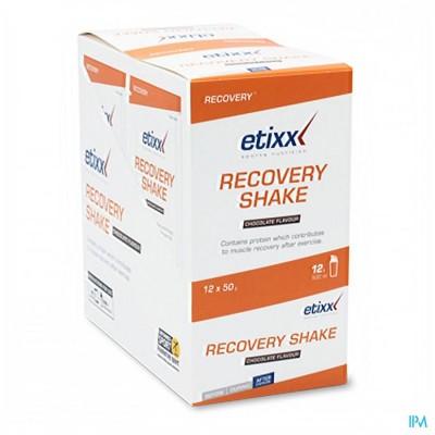 ETIXX RECOVERY SHAKE CHOCOLATE SRP 12X50G