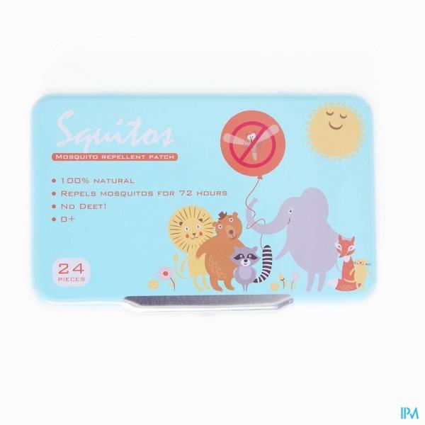 Squitos Antimuggen Stickers 24x