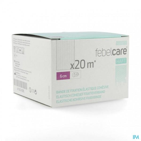 Febelcare Haft Elas. Cohesief Fixatieverb. 6cmx20m