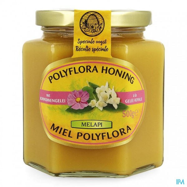 Melapi Polyflora+koninginnebrij 500g 5534 Revogan