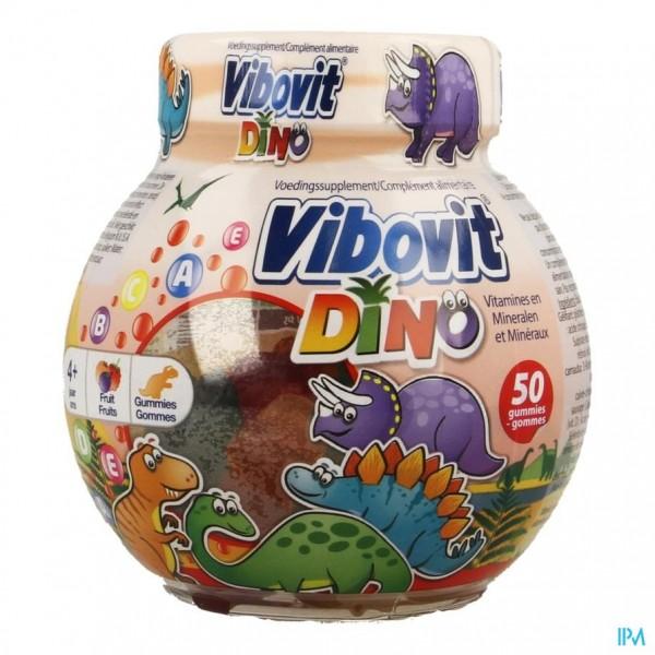 Vibovit Fishbowl Dinosaur Gummies 50