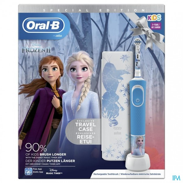 Oral B D100 Frozen 2 + Travelcase Gratis