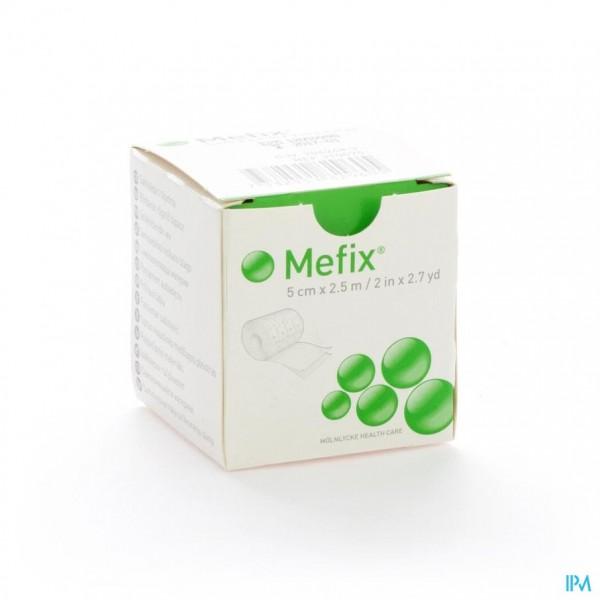 MEFIX ZELFKLEVENDE FIXATIE 5,0CMX 2,5M 1 310570
