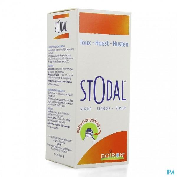 STODAL SIROOP 200ML BOIRON