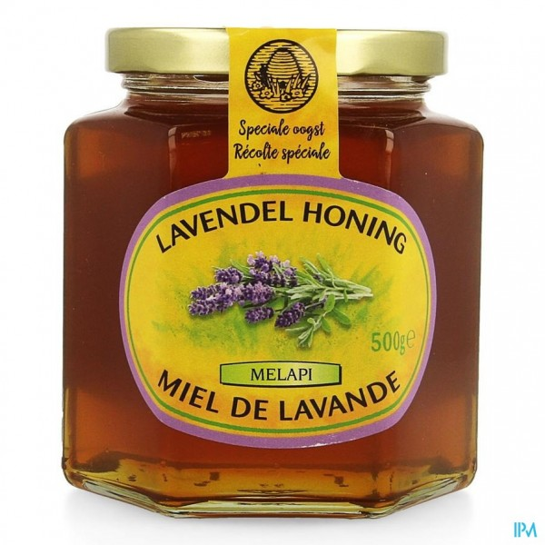 Melapi Honing Lavendel Zacht 500g 5528 Revogan