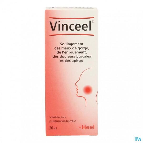 Vinceel Mond-keelspray 20ml Heel
