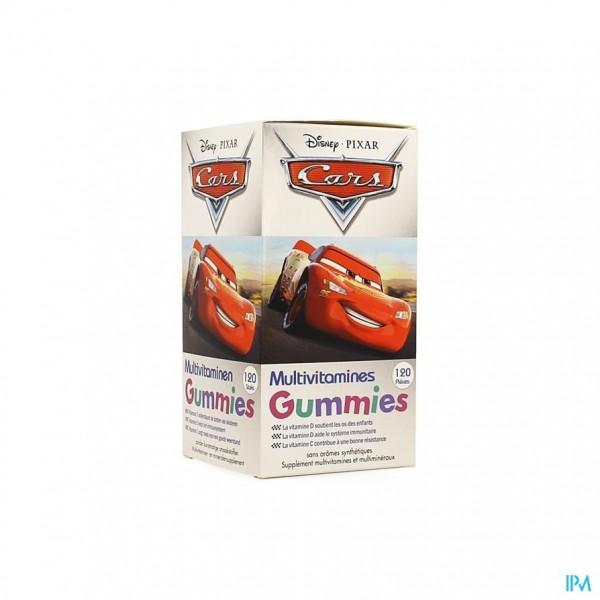 DISNEY MULTIVITAMINEN CARS GUMMIES 120