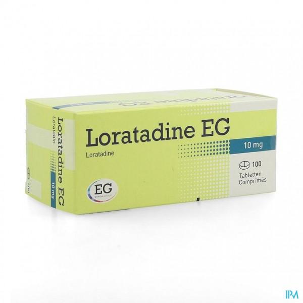 Loratadine Eg 10mg Tabl 100 X 10mg