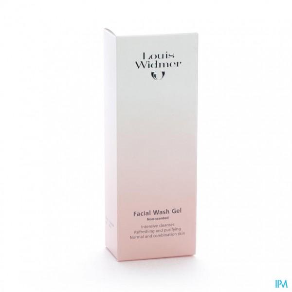 Widmer Wash Gel Gezicht N/parf 125ml