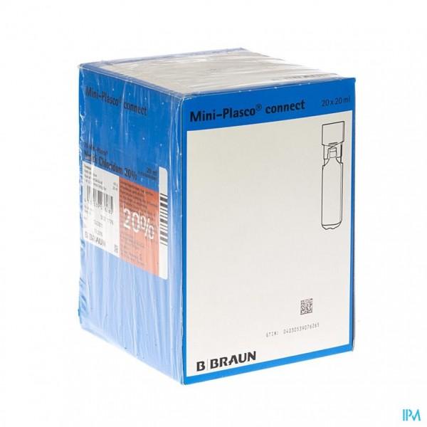 Mini Plasco Nacl 20 % 20 X 20ml