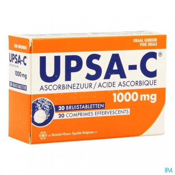 Upsa-c 1g Bruistabletten 20