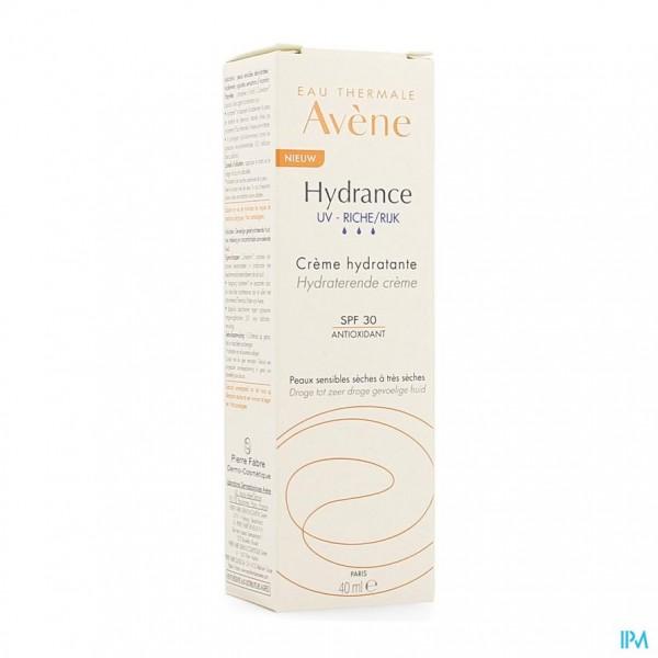 Avene Hydrance Uv Rijk Hydraterende Creme 40ml