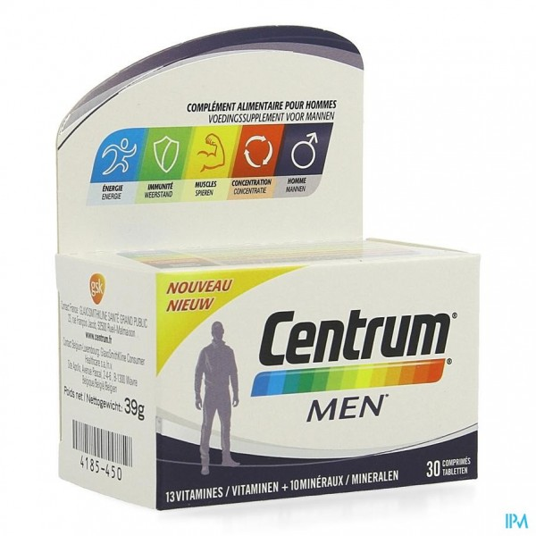 CENTRUM MEN COMP 30