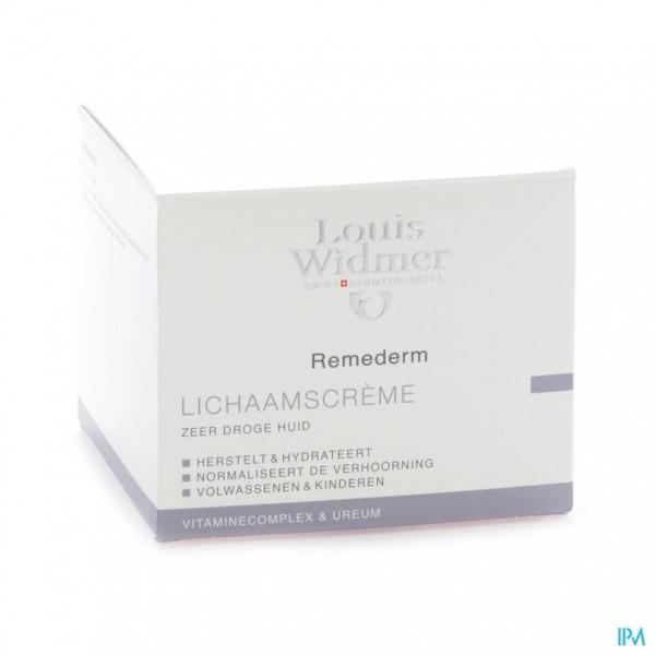 Widmer Remederm Creme Parf Pot 250ml