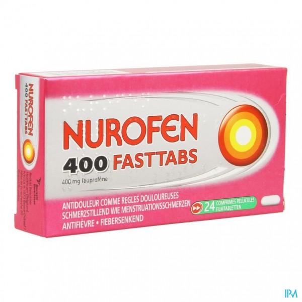 Nurofen 400 Fasttabs 24 X 400mg