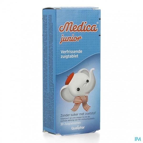 Medica Junior 30 suikervrije zuigtabletten