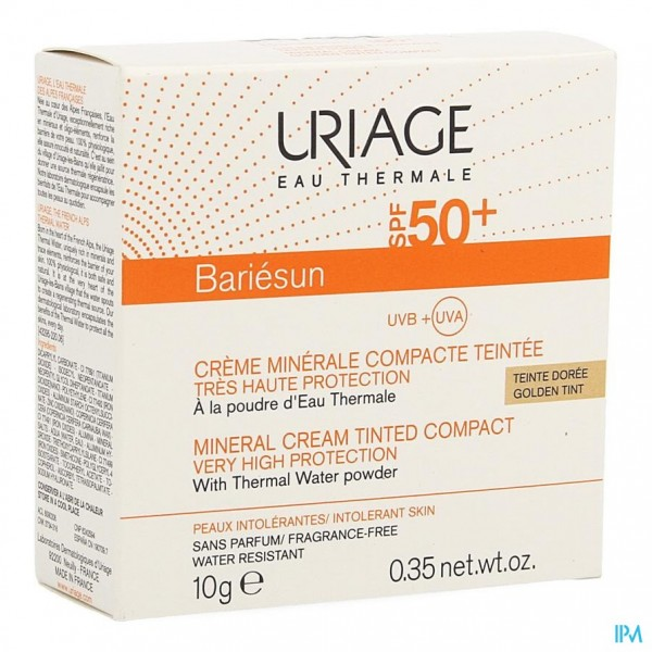 Uriage Bariesun Ip50+ Cr Miner. Comp.brons Pdr 10g