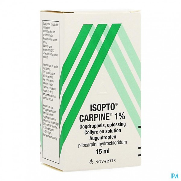 Pilocarpine-isopto 1 % Collyre 15ml