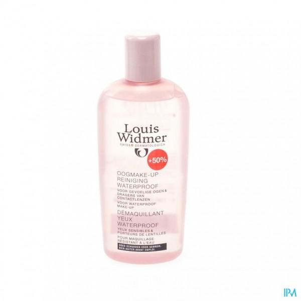 Widmer Oogmake-up Reiniger Spec. Wtp N/parf 150ml