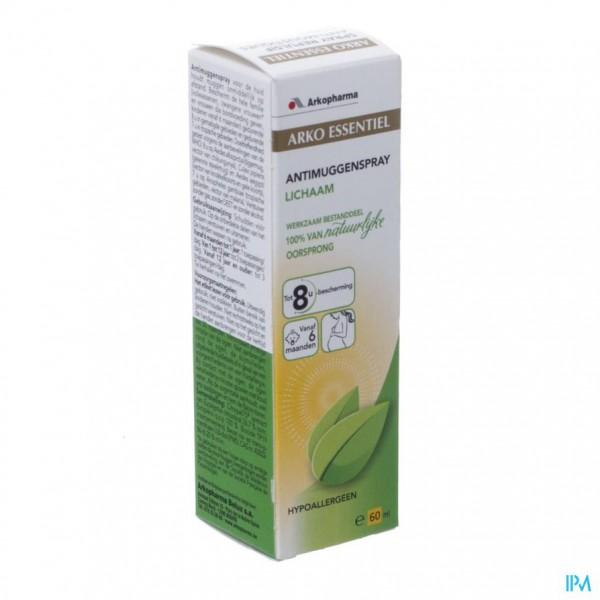 Arko Essentiel Spray Afstotend A/muggen 60ml