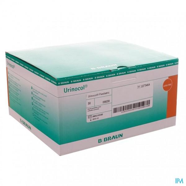 Urinocol Zakjes Jongens + Afvloeiing 50 227546a