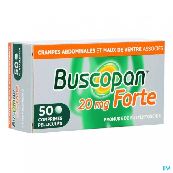 Buscopan Forte 20mg Filmomh Tabl 50