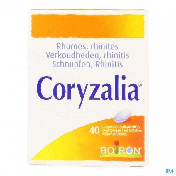 Coryzalia Tabl Orodisp 40 Boiron