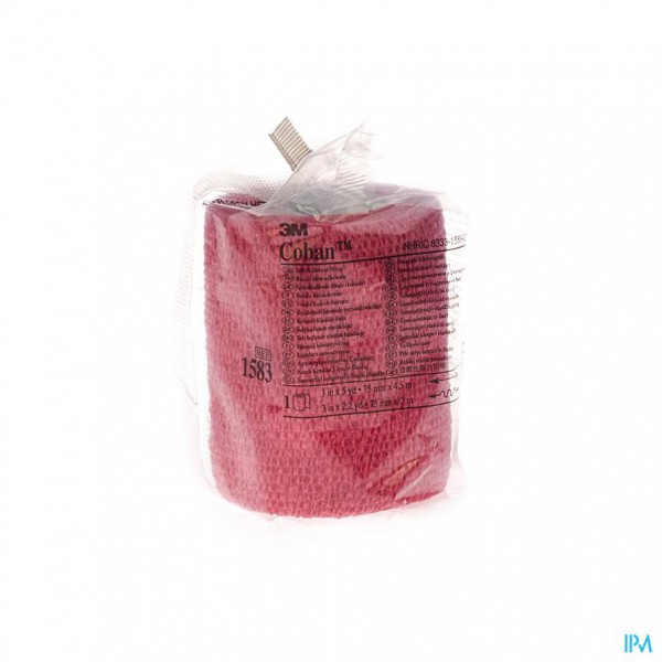 Coban 3m Rekverband Red Rol 7,5cmx4,57m 1583/r