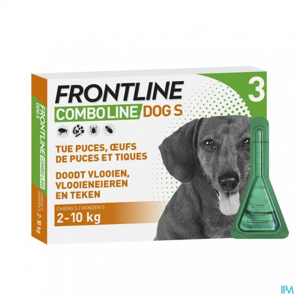 Frontline Combo Line Dog S 2-10kg 3x0,67ml