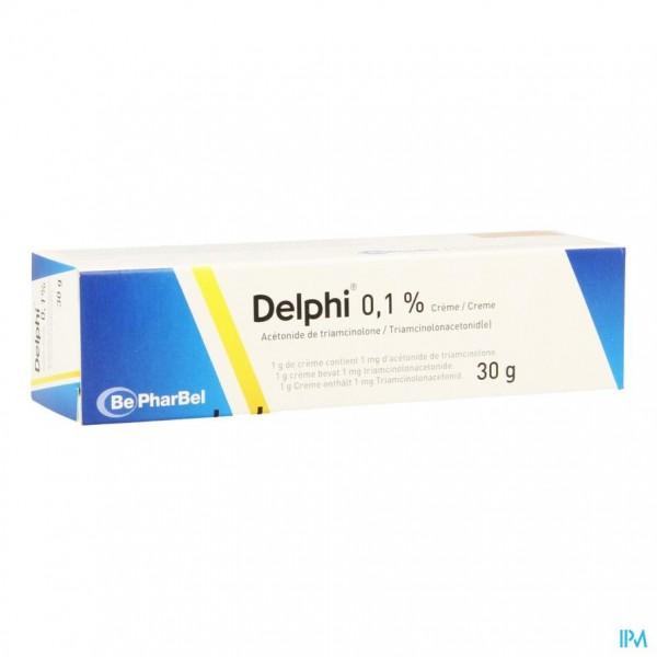Delphi Creme Derm 1 X 30g 0,1%