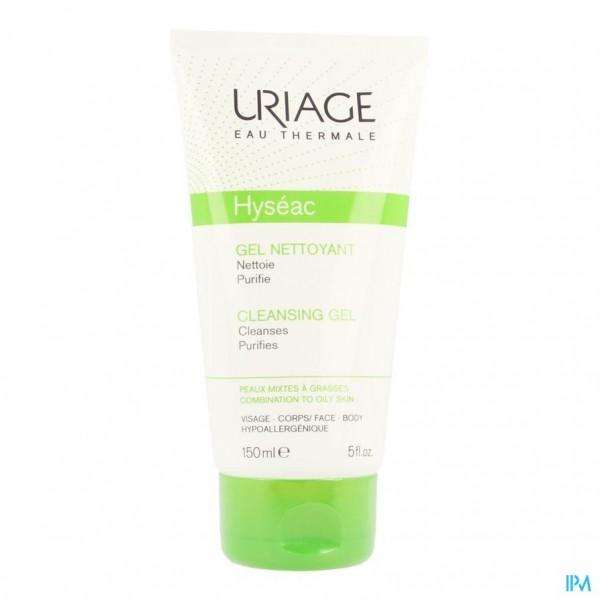 Uriage Hyseac Zachte Reinigingsgel Tube 150ml