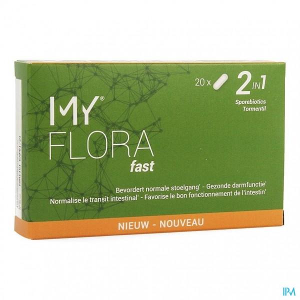 My Flora Fast Caps 20