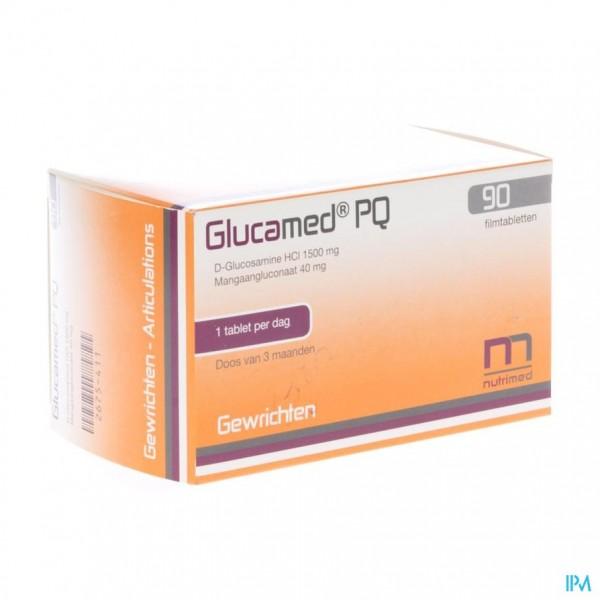 GLUCAMED PQ BLISTER FILMTABL 90
