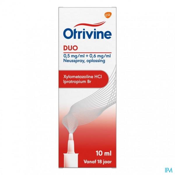 Otrivine Duo 0,5/0,6 Spray Nas 10ml