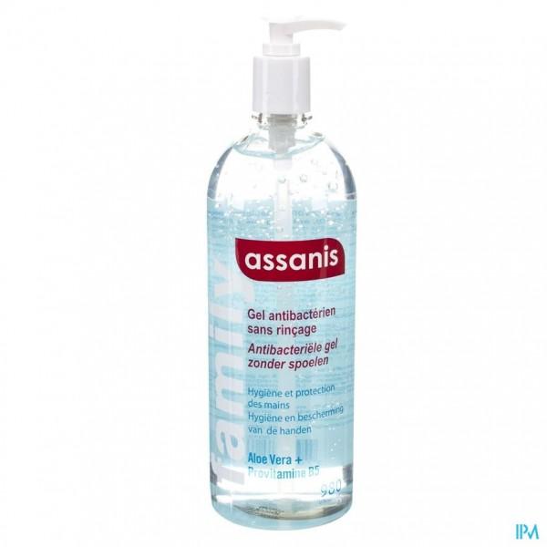 Assanis Family Gel A/bacterieel Z/spoelen 980ml