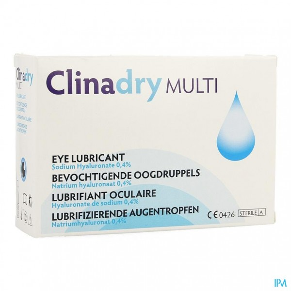 Clinadry Oogdruppels Multidose 20x0,50ml
