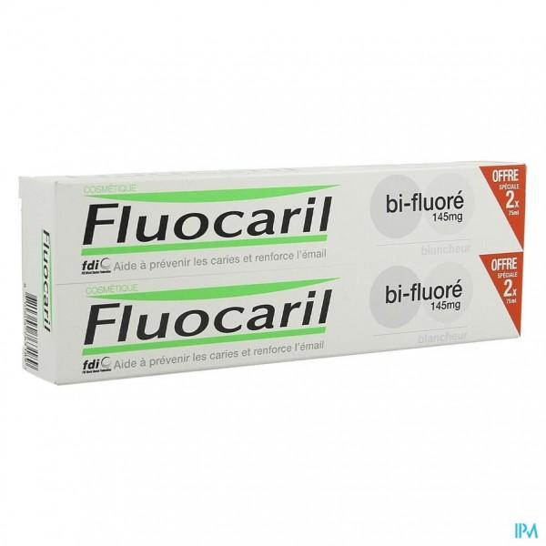 Fluocaril Tandpasta Bi-fluore 145 White 2x75ml